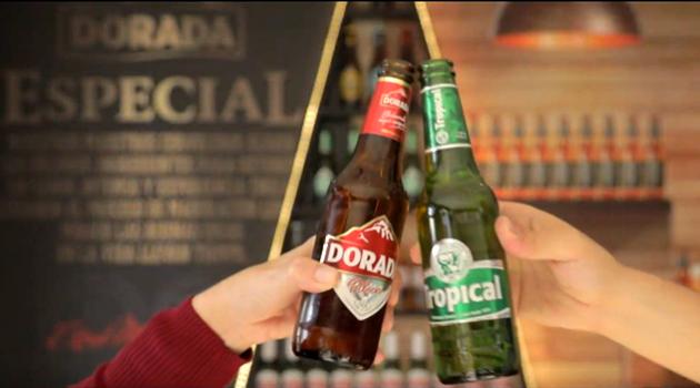 Cervezas Tropical y Dorada de Canarias