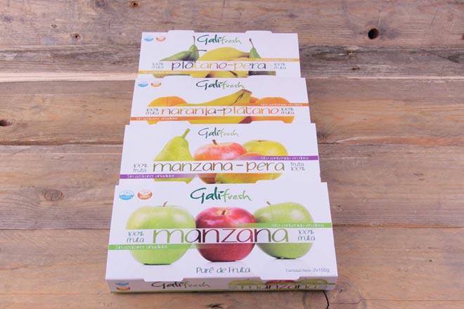 Purés de frutas Galifresh