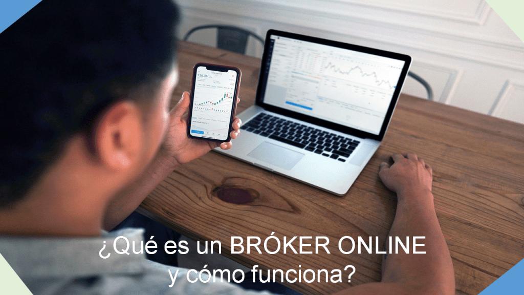 qué es un bróker online