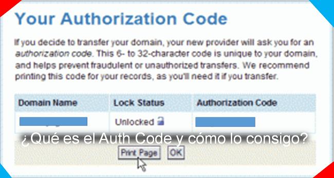qué es el Auth Code