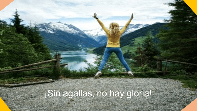 sin agallas, no hay gloria