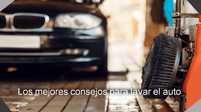 los mejores consejos para lavar el auto