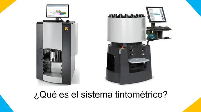 qué es el sistema tintométrico