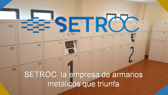 setroc fábrica de taquillas smart lockers