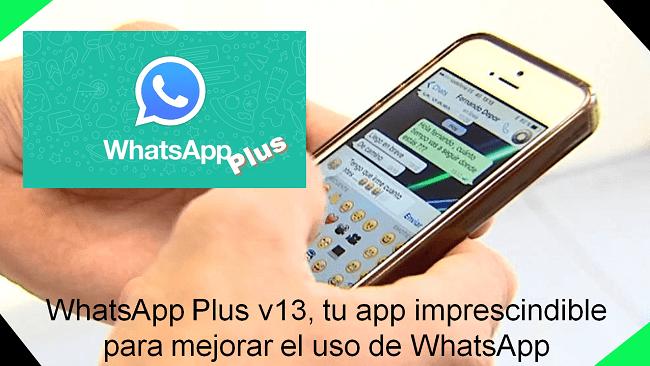 cómo descargar whatsapp plus v13