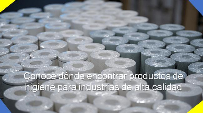 donde encontrar productos de higiene para industrias