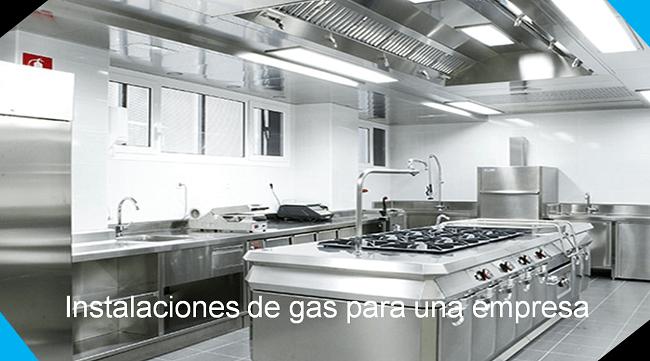 instalaciones de gas para una empresa