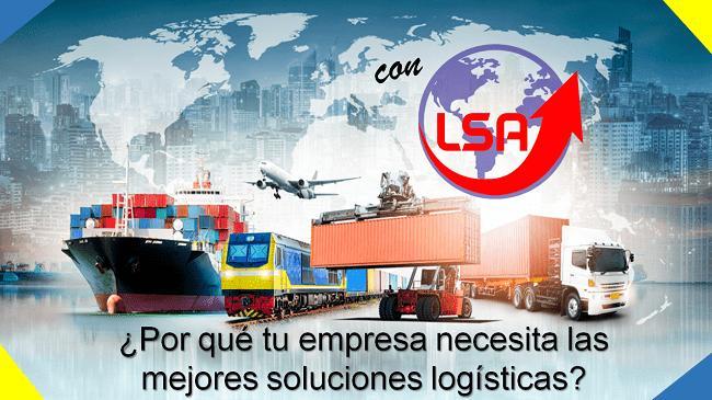 principales soluciones logísticas - LSA Logística