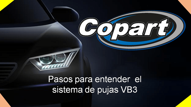 sistema de puja virtual de coches Copart
